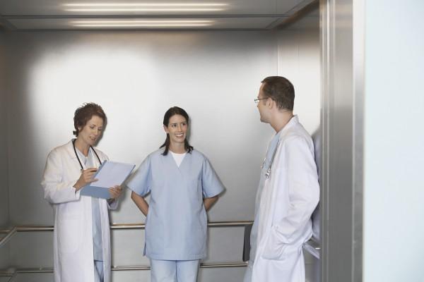 Characteristics and Measurement of Hospital Lifts